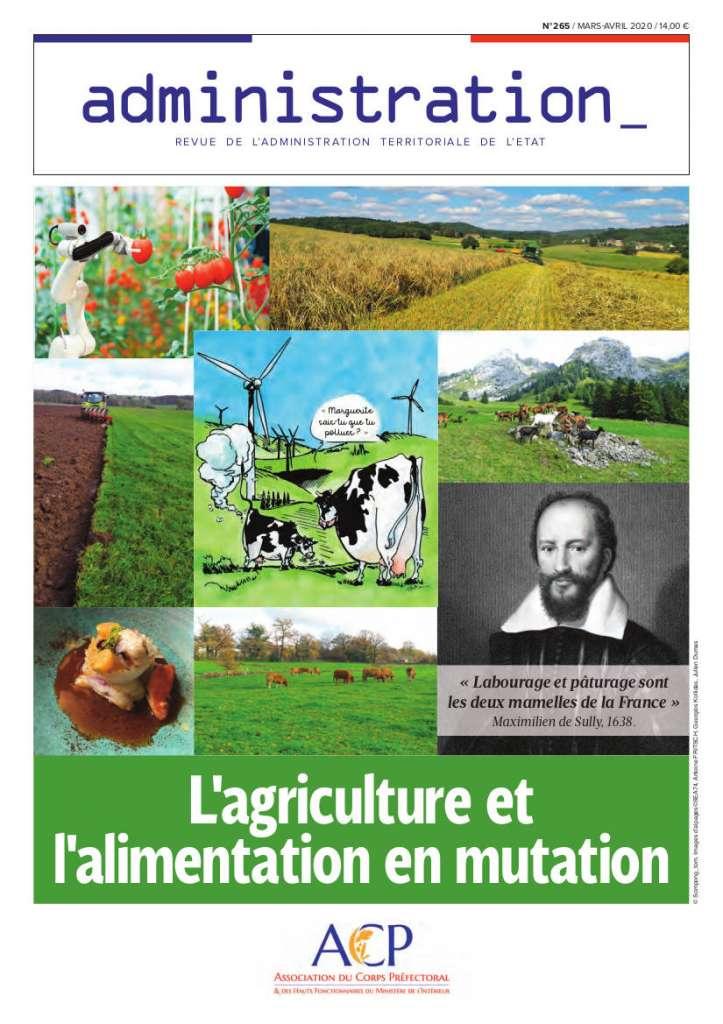 Couverture de la revue Administration N°265